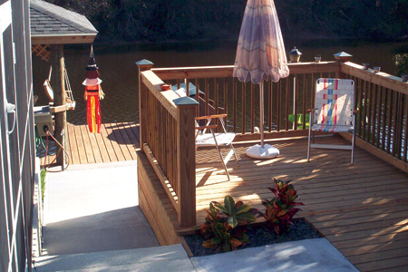 home-improvement-for-wood-deck-and-concrete-steps