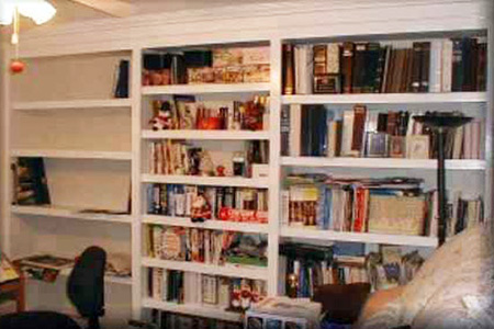 built-in-shelving