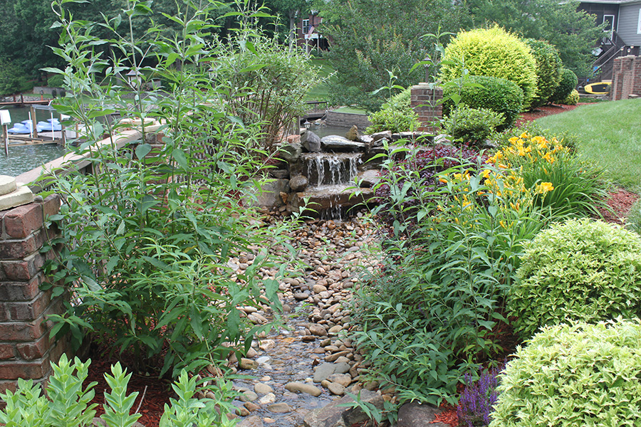 river-rock-pond-repair-mooresville-nc