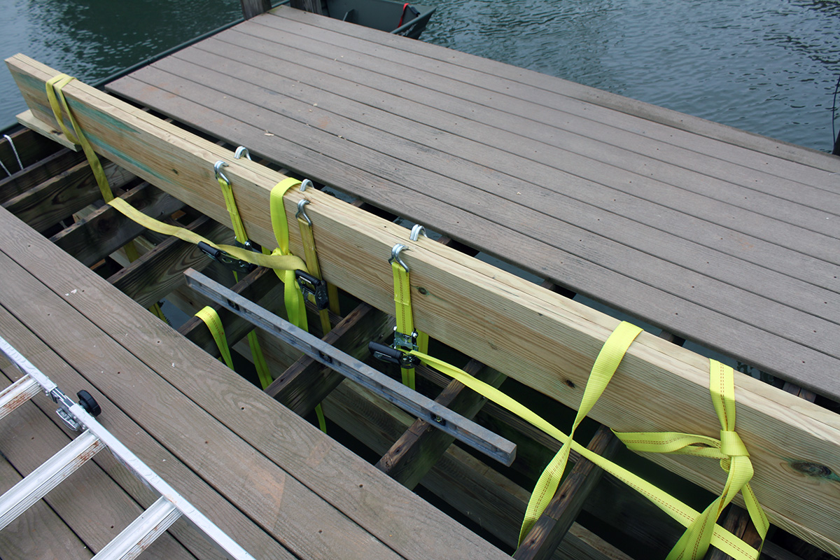dock-repair-in-the-point-on-lake-norman